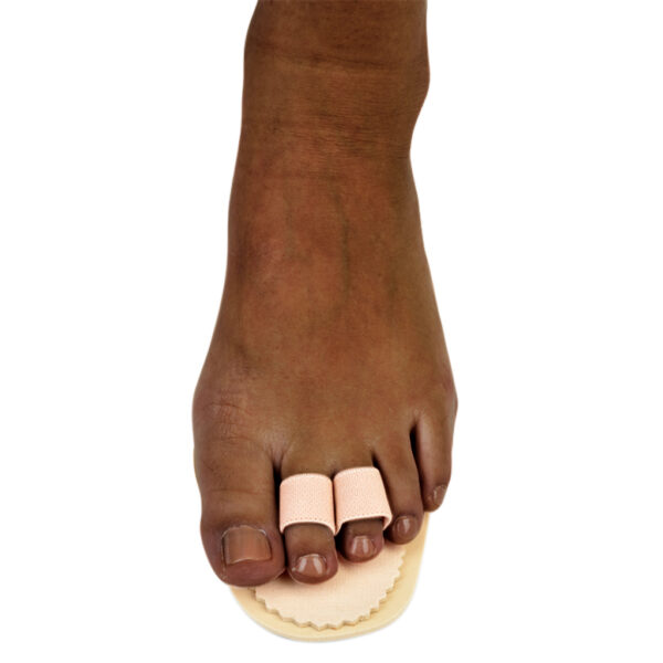 Double Toe Splint - Silipos Toe Brace For Broken or Hammer Toes