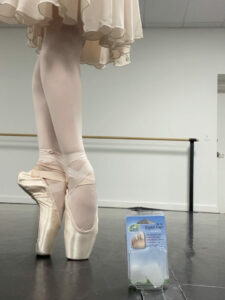 Isabelle Tenney - Toe Pads For Pointe Shoes - Eliminating Pointe Shoe Pain